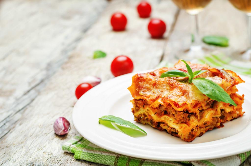 Lasagna Vegetales Olla de Coccion Lenta