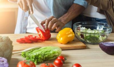 vegetales para la receta de lasagña vegetariana