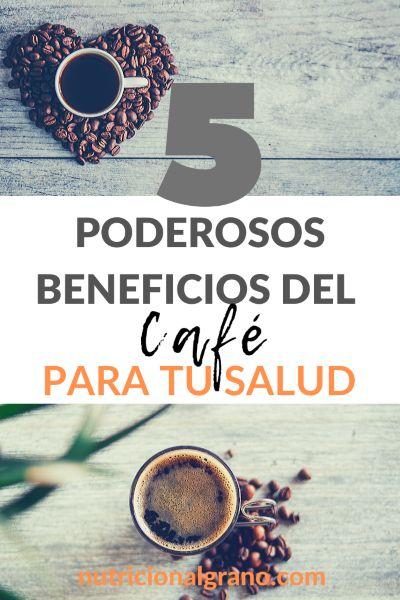 Imagen para Pinterest Beneficios del cafe para la salud