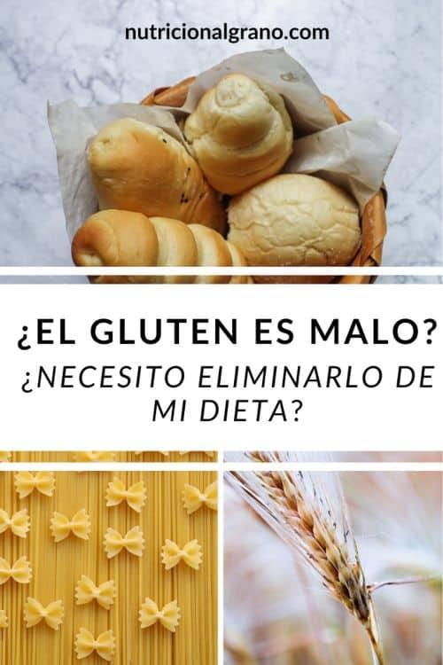 El gluten es malo