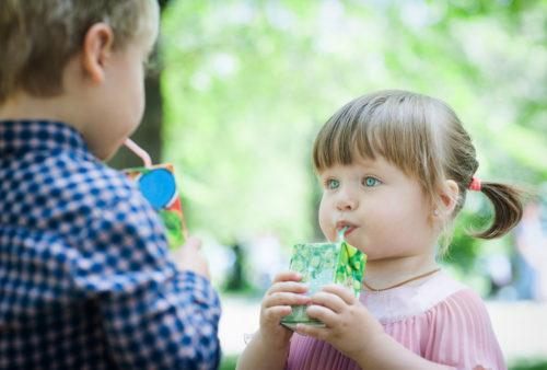 Bebidas azucaradas en los niños