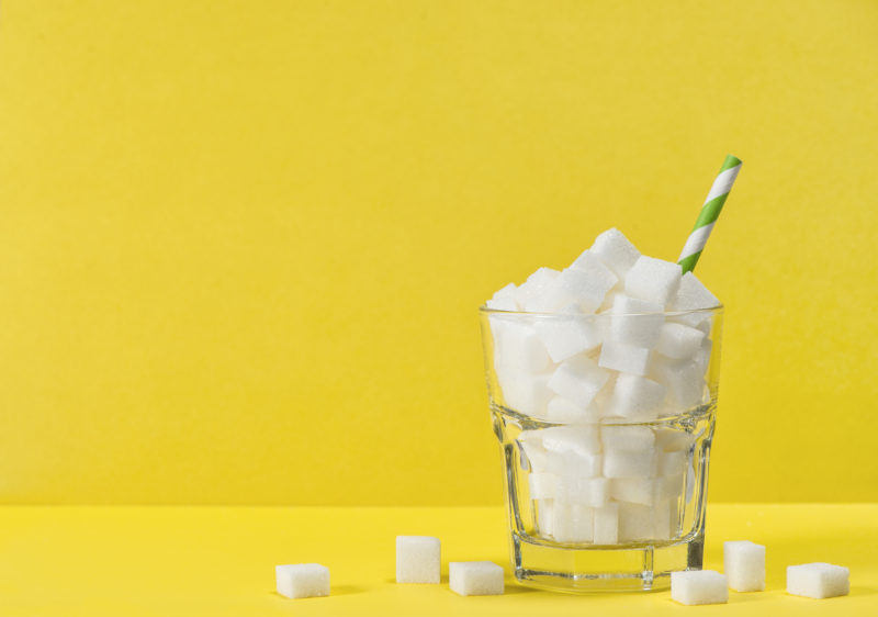 Bebidas azucaradas en niños