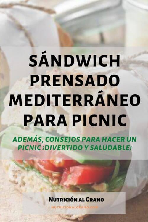Sandwich para picnic