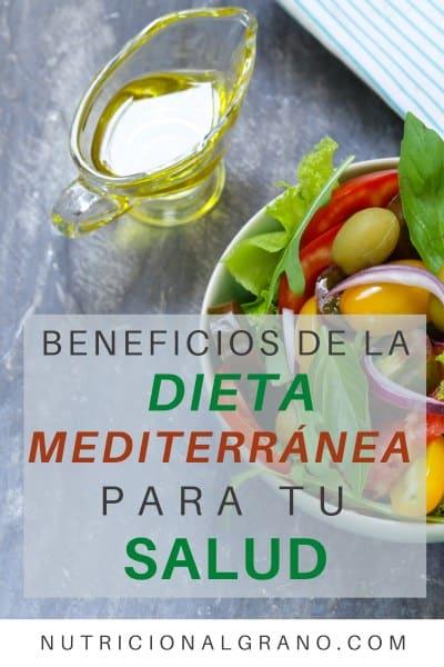 Beneficios de la dieta mediterránea para tu salud