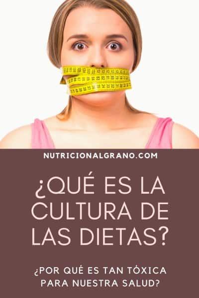 Cultura de la dieta