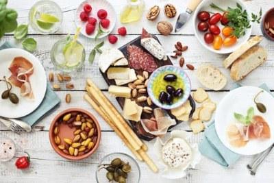 que alimentos se comen en la dieta mediterránea