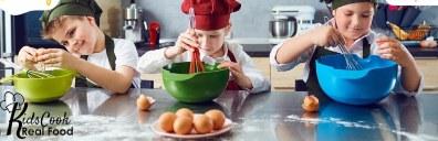 Recurso gratis de Kids Cook Real Food