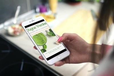 libro de recetas de jugos verdes