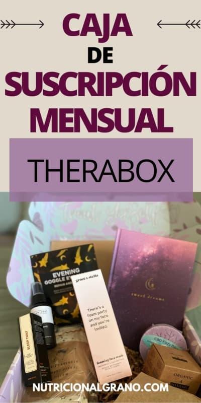 Cajas de suscripción mensual Therabox