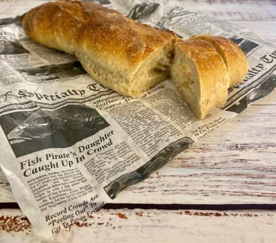 Pan de baguette para panini